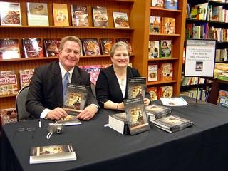 Lisa at Book Signing