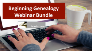 Beginning Genealogy Webinar Bundle
