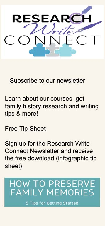 Research Write Connect Newsletter